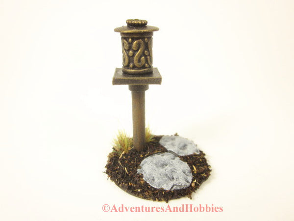 Wargame Terrain Roadside Graveyard Shrine T1562 25-28mm Scale
