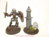 Wargame Terrain Roadside Graveyard Stone Shrine T1567 25-28mm Scale