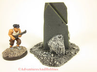 Call of Cthulhu Stone Monument T1572 War Game Terrain 25-28mm Horror Fantasy Scenery