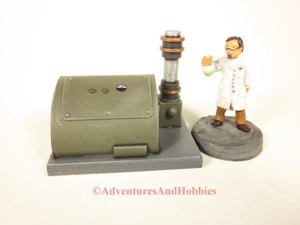 Miniature Mad Scientist Laboratory Equipment T1574 25-28mm 40K Frankenstein Lab