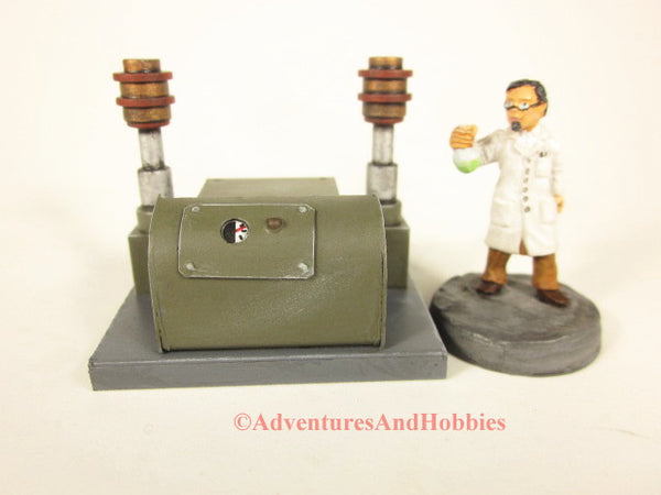 Miniature Mad Scientist Laboratory Equipment T1576 25-28mm 40K Frankenstein Lab