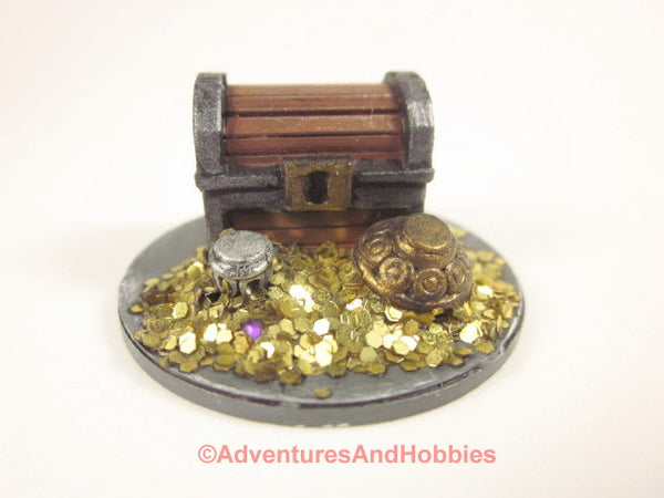 Miniature Wargame Scenery D&D Fantasy Treasure T1583 Pile Objective Marker