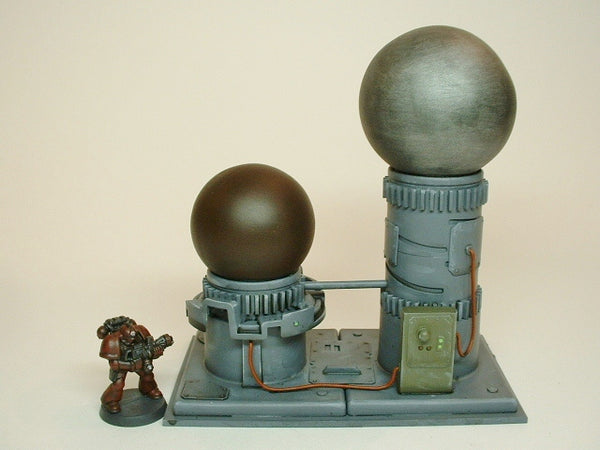 War Game Terrain T213 Mad Science Industrial Equipment Scenery Warhammer 40K