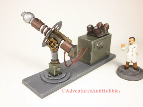 Miniature Mad Science T2310 Laboratory 25-28mm 40K Frankenstein Lab