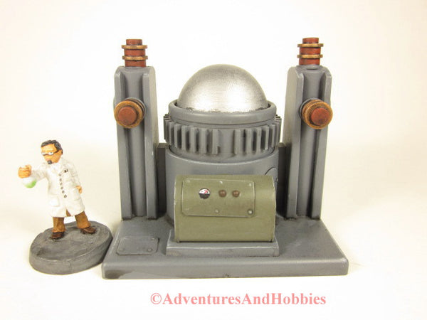 Miniature Mad Scientist Lab Energy Containment T2318 25-28mm 40K Frankenstein Lab