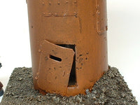 War Game Terrain T246 Watch Tower Damaged Scenery Warhammer 40K