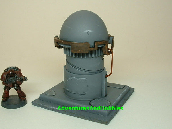War Game Terrain T272 Science Fiction Industrial Equipment Scenery