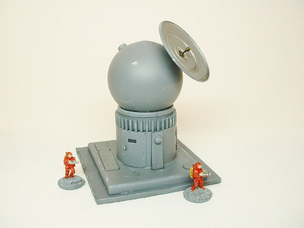 Wargame Terrain 15MM Sci Fi Communications Station T284