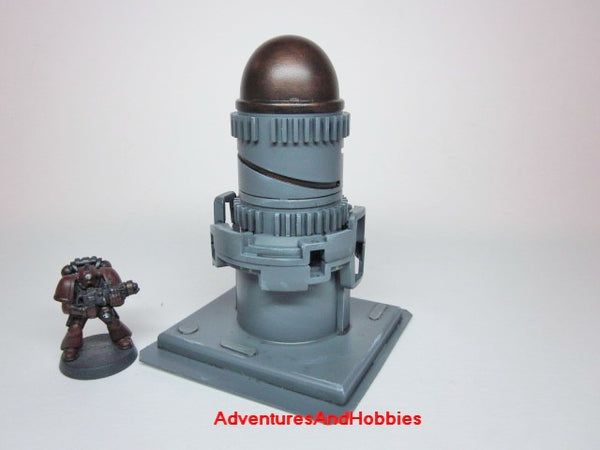 Miniature Wargame Terrain Industrial Equipment T447 Warhammer 40K