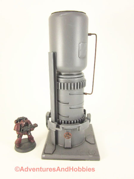 Wargame Industrial Equipment T542 Terrain Mad Science Warhammer 40K