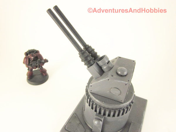 Wargame Terrain Remote Air Defense Gun Turret Scenery T543 War 40K