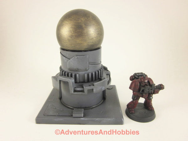 Wargame Terrain Mad Science Industrial Equipment T546 Warhammer 40K