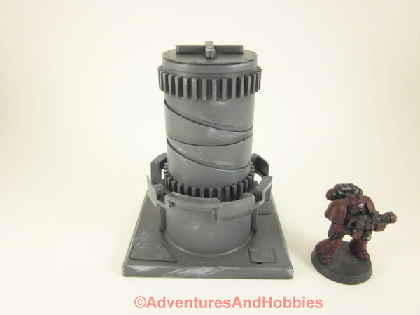 Wargame Terrain Mad Science Industrial Equipment T549 Warhammer 40K