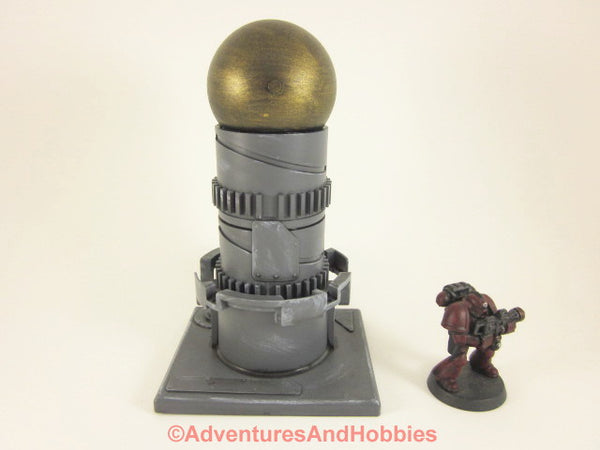 Wargame Terrain Mad Science Industrial Equipment T555 Warhammer 40K