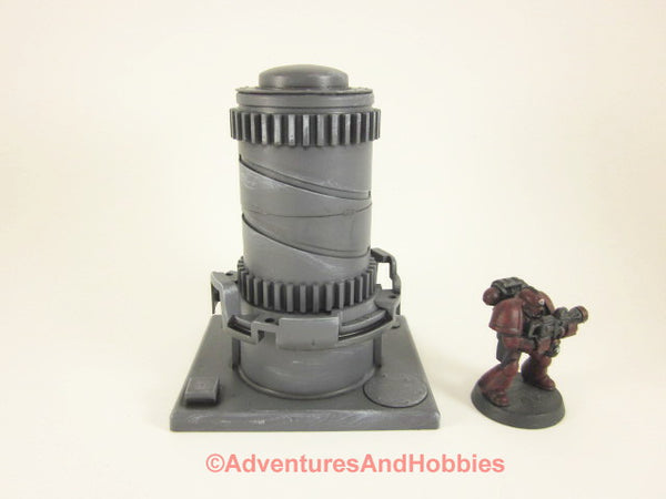Wargame Terrain Mad Science Industrial Equipment T556 Warhammer 40K