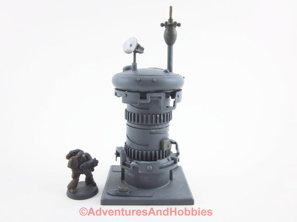 Wargame Terrain Communications Tower Science Fiction Scenery T574 40K