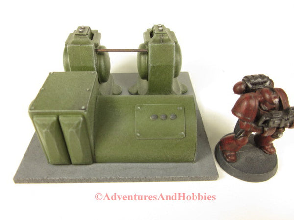 Wargame Terrain Power Generator Station Industrial Equipment T579 Scenery in 25-28mm Scale.