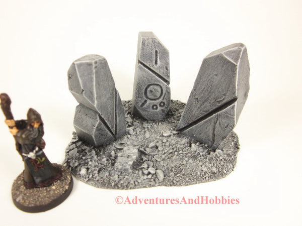 Call of Cthulhu Monument Stones T581 Terrain For 25-28mm Scale Miniature War Games.