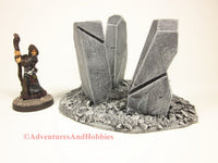 Call of Cthulhu Monument Stones T581 War Game Terrain Horror Fantasy Scenery