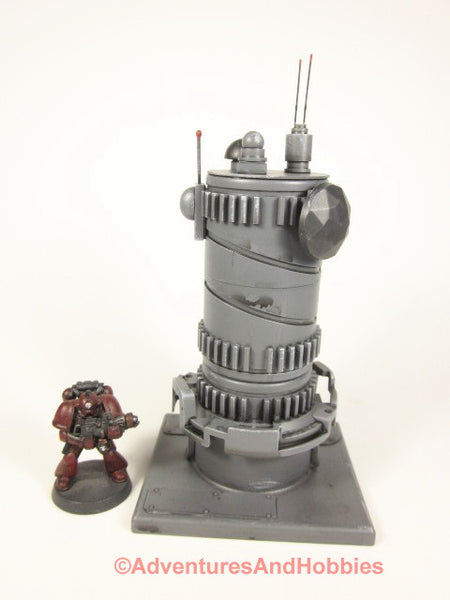 Miniature Communications Tower Science Fiction Wargame Scenery T611 40K
