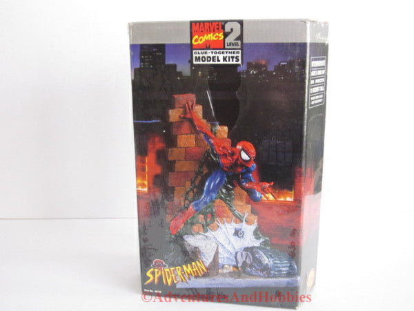 Marvel Comics Spiderman Character Superhero Plastic Model Kit Toy Biz 48658