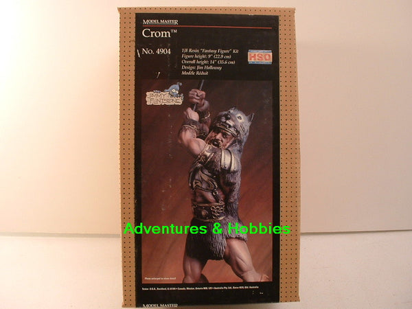 1/8 Crom Fantasy Resin Kit Jimmy Flintstone New OOP Testors 4904 E7