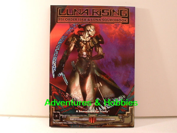 Trinity Luna Rising Psi Sourcebook White Wolf KC Science Fiction RPG
