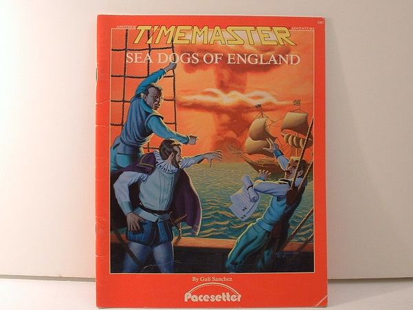 Timemaster Sea Dogs of England Pacesetter OOP KB Time Travel RPG