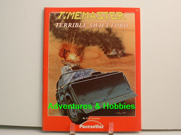 Timemaster Terrible Swift Ford 1985 Pacesetter OOP H7 Time Travel RPG
