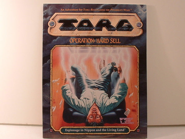 Torg Operation Hard Sell Adventure New OOP KB West End Games