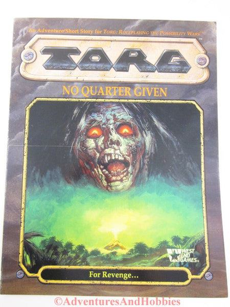 Torg No Quarter Given Adventure West End Games 1993 DQ