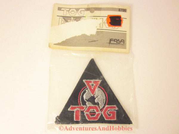 BattleTech Renegade Legion Patch TOG Terran Overlord Government FASA 8706 1988 Cosplay BQ