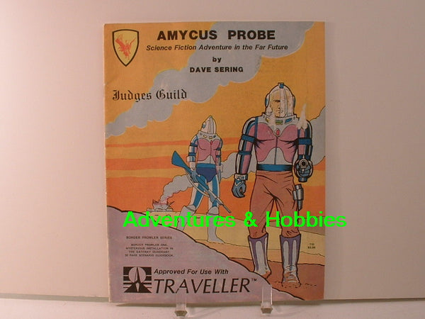 Traveller Amycus Probe Adventure 1981 Judges Guild JC