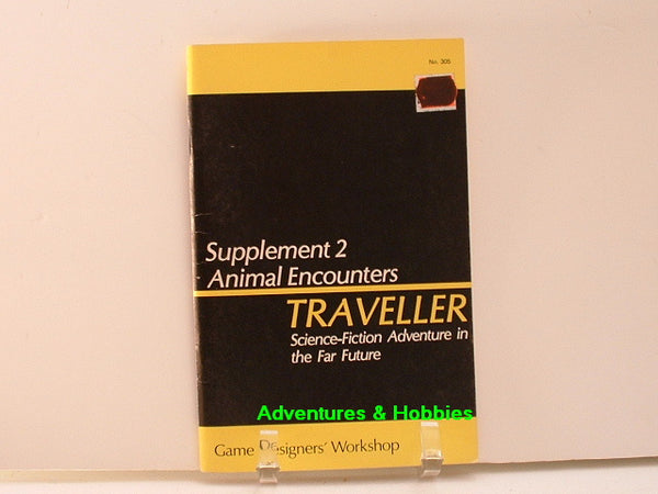 Traveller Supplement 2 Animal Encounters GDW 1779 New OOP E8