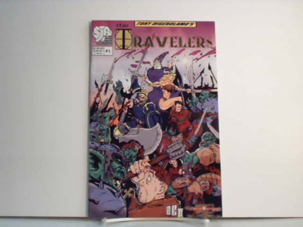 Travelers #1 Issue Fantasy Comic Tony DiGerolamo New JC