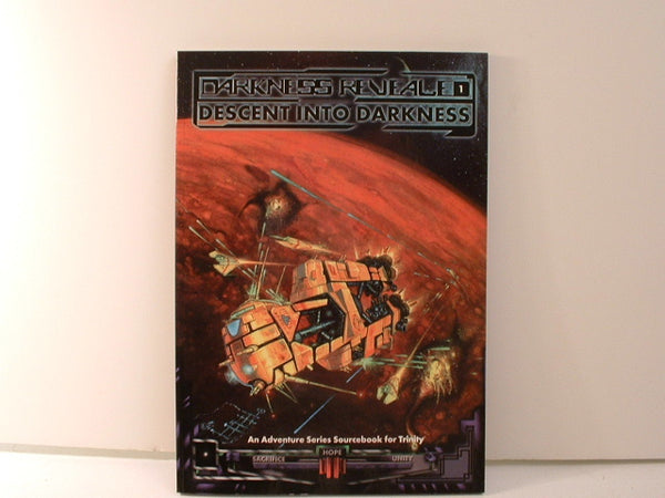 Trinity SF Descent Into Darkness OOP New BB White Wolf 1998