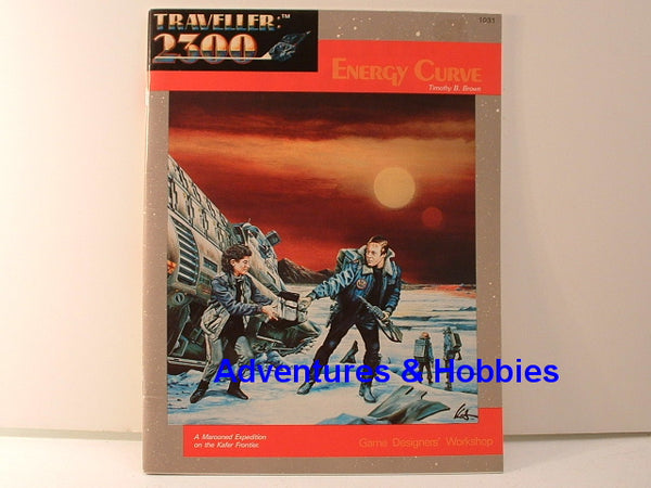 Traveller 2300 Energy Curve Adventure GDW 1986 OOP GC