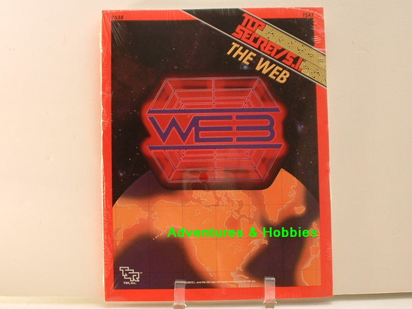 Top Secret SI The Web Sealed Shrinkwrap TSR 7638 1991 C8 Espionage