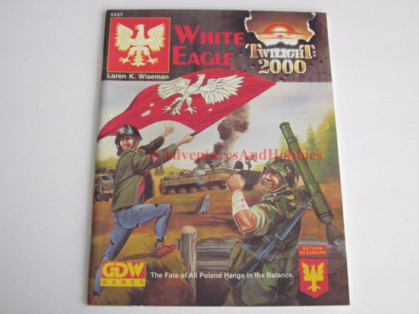 Twilight: 2000 White Eagle Return to Europe Game Designers GDW 0527