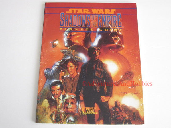Star Wars RPG Shadows of the Empire Planets Guide West End Games 40134 JSo-S