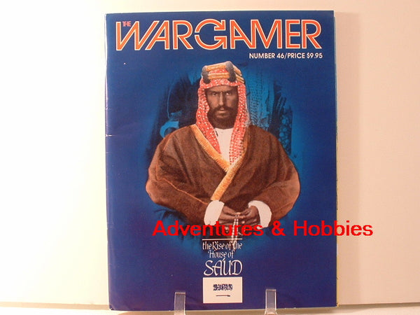 Wargamer #46 Rise of the House of Sa'ud Unpunched New HC War Game