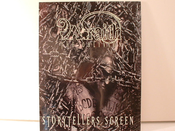 Wraith Storytellers Screen New NMint White Wolf OOP HB Sealed Horror