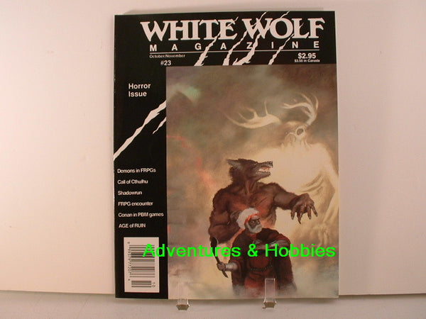 White Wolf #23 Horror Issue Call of Cthulhu Shadowrun More A8