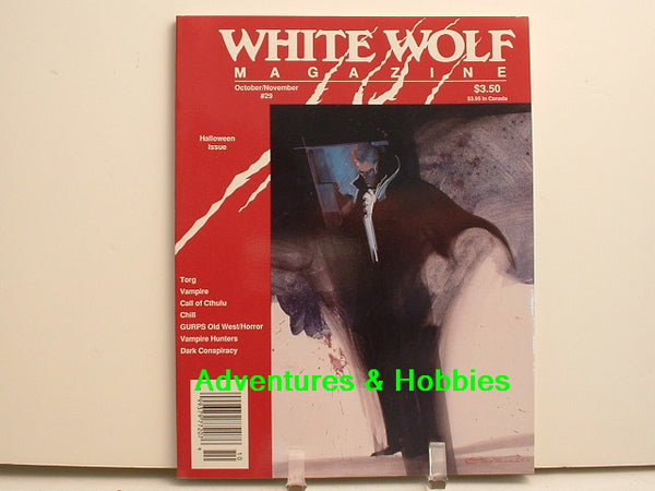 White Wolf #29 Call of Cthulhu Chill GURPS Halloween Issue G7
