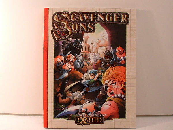 Exalted RPG Scavenger Sons Sourcebook Super Hero White Wolf I5