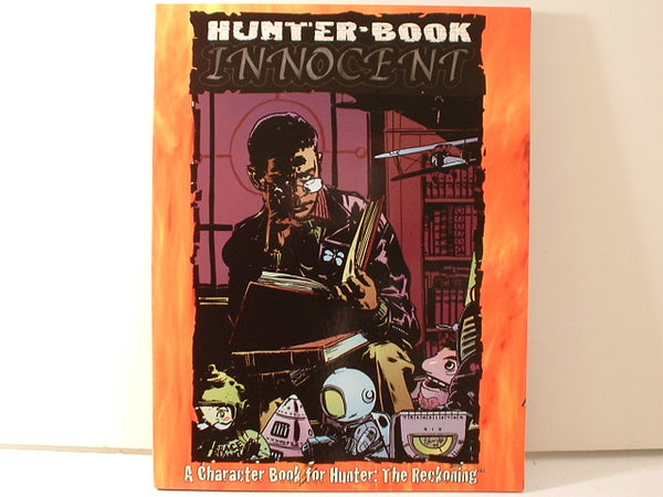 Hunter Horror RPG Innocent Character Book New OOP CC White Wolf