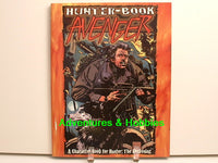 Hunter Horror RPG Avenger Character Book White Wolf New OOP H7