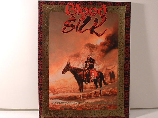 Vampire Kindred of the East Blood and Silk White Wolf New OOP IB