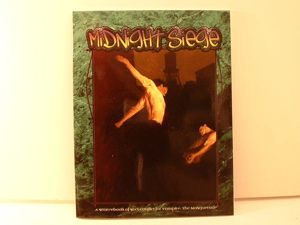 Vampire Midnight Siege Sourcebook New OOP DC White Wolf Horror RPG