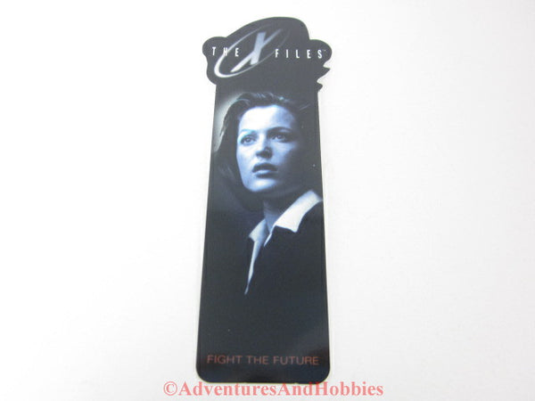 X-Files shaped bookmark Dana Scully.